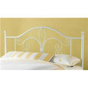 Morris Home Furnishings Metal Beds Ruby Full/ Queen Headboard