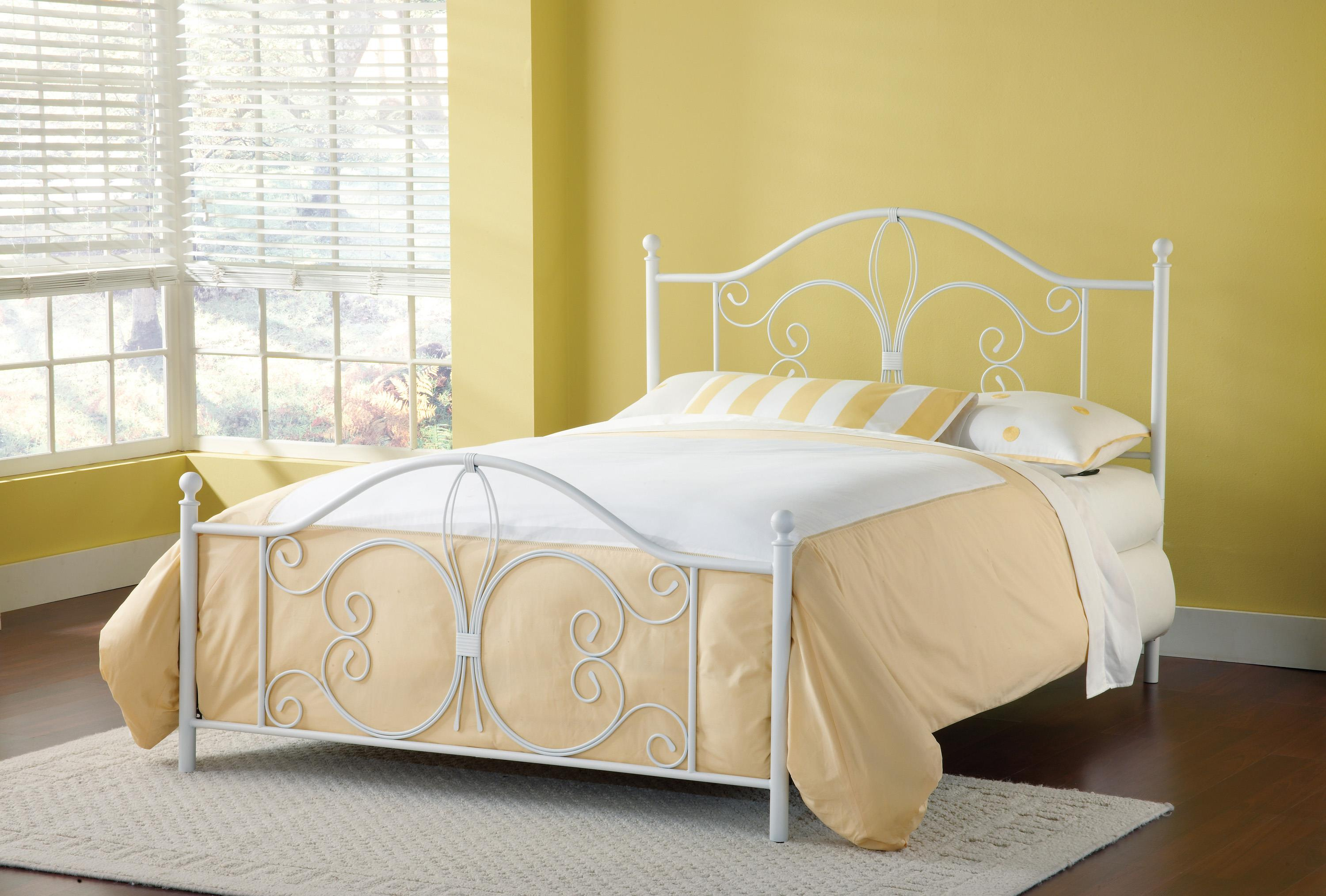 Hillsdale Metal Beds Ruby Twin Bed - Item Number: 1687BTWR