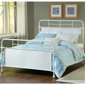 Morris Home Furnishings Metal Beds Queen Kensington Bed
