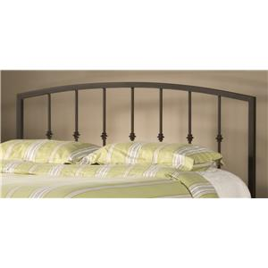 Hillsdale Metal Beds Sausalito King Headboard with Rails
