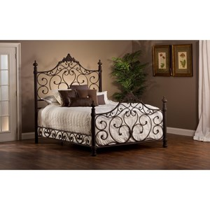 Hillsdale Metal Beds King Bed Set with Rails