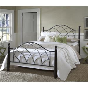 Morris Home Furnishings Metal Beds Vista Queen Bed Set