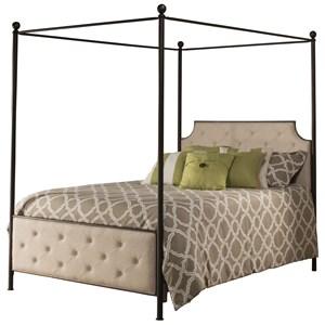 Hillsdale Metal Beds Queen Canopy Bed Set
