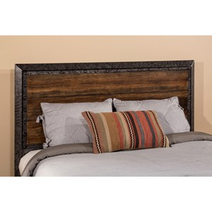 Morris Home Furnishings Metal Beds Queen Mackinac Headboard