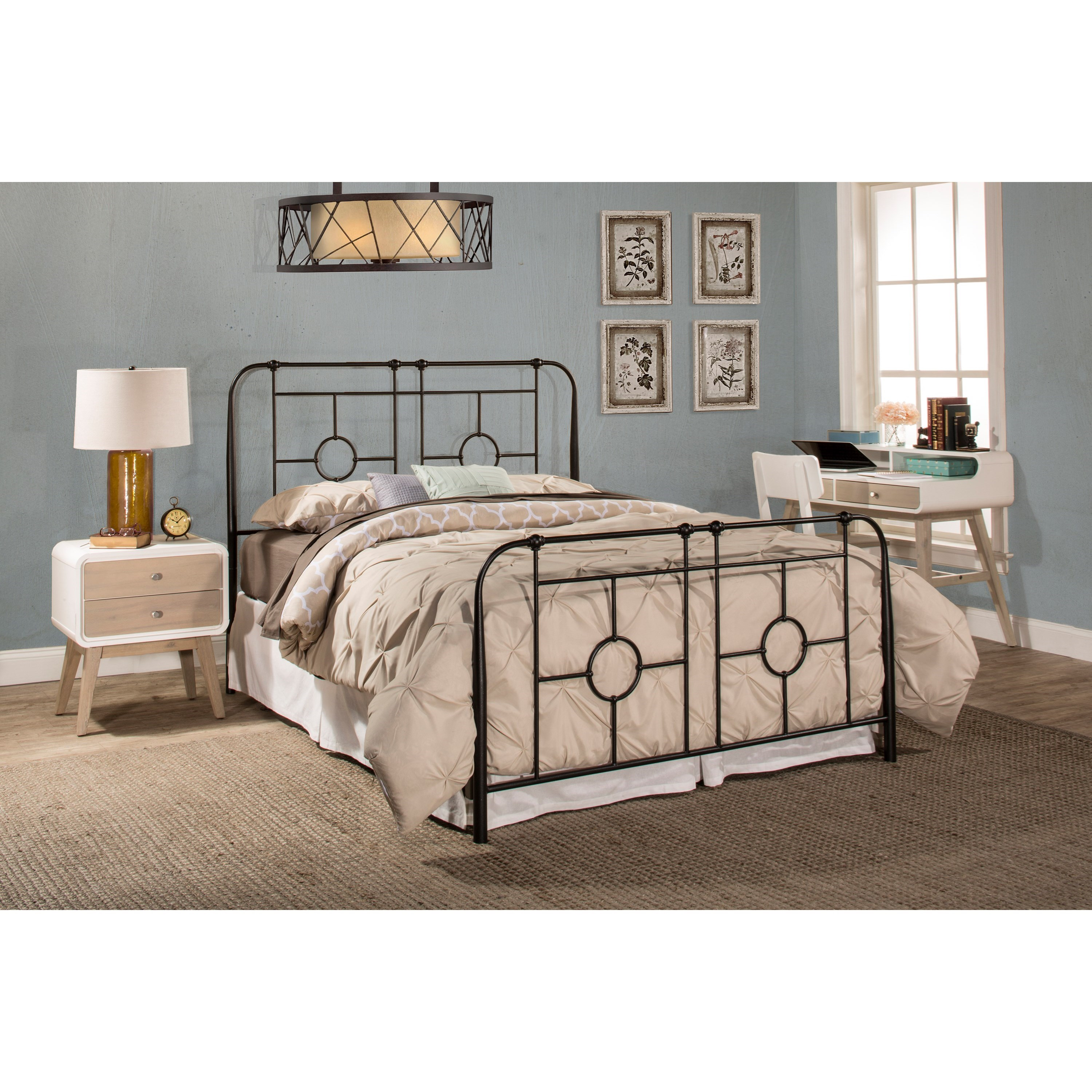 Hillsdale Metal Beds Queen Bed Set Frame Not Included