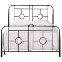 Hillsdale Metal Beds Full Bed Set - Item Number: 1859BFR