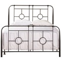 Morris Home Metal Beds Queen Metal Bed Set - Item Number: 1859BQR