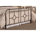 Hillsdale Metal Beds Metal Twin Bed Set with Frame