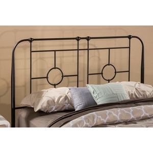 Morris Home Furnishings Metal Beds Full/Queen Headboard with Frame