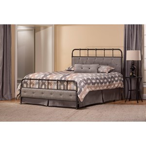 Morris Home Furnishings Metal Beds King Bed Set