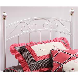 Hillsdale Metal Beds Emily Twin Headboard and Rails