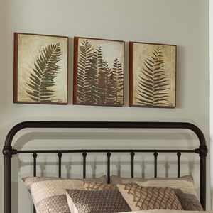 Morris Home Metal Beds Full/Queen Metal Headboard