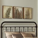 Hillsdale Metal Beds Twin Metal Headboard - Item Number: 1863HTWR
