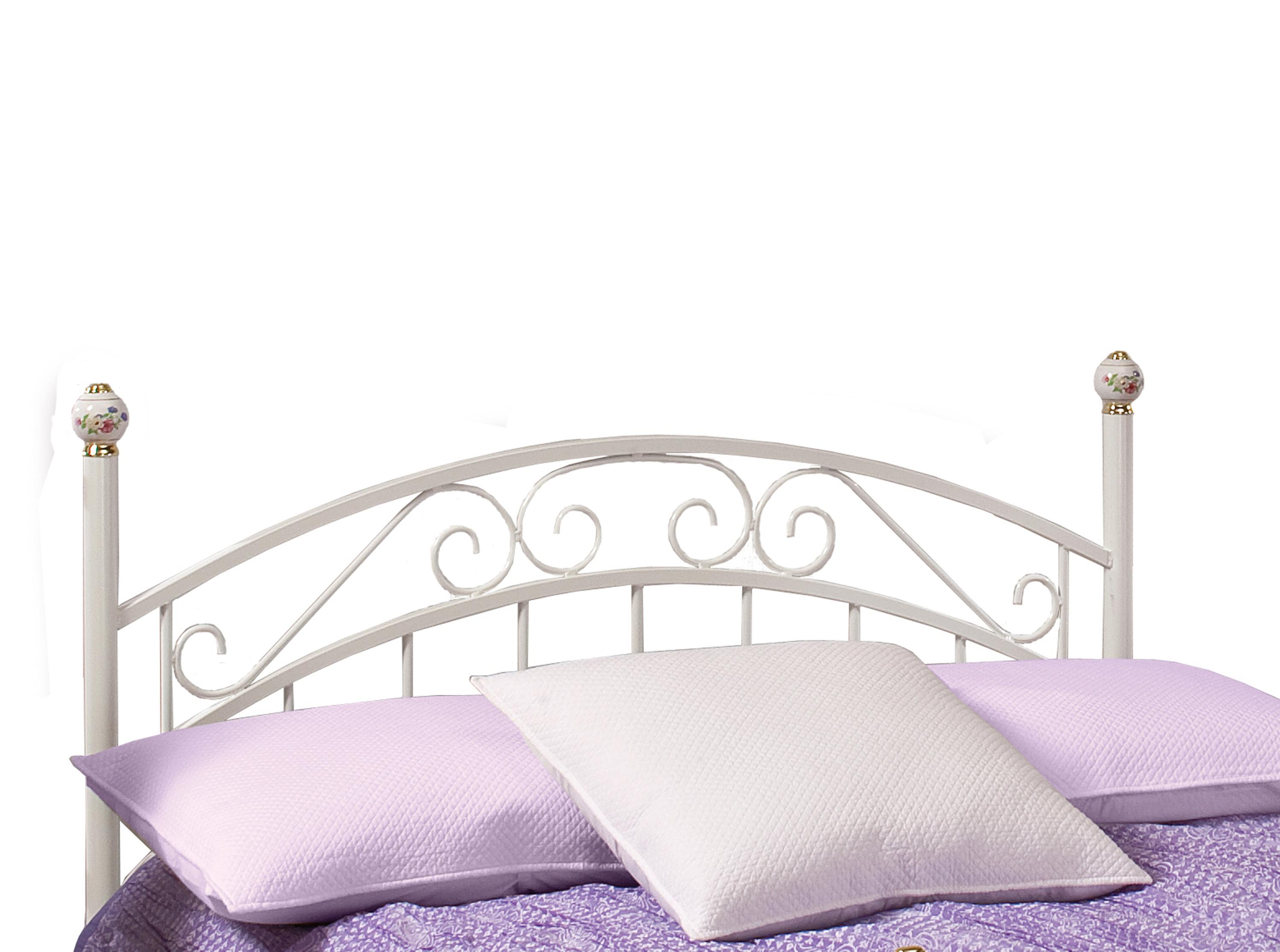 Hillsdale Metal Beds Emily Full Headboard and Rails - Item Number: 1864HFR
