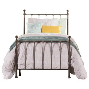 Hillsdale Metal Beds Twin Bed Set