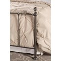 Hillsdale Metal Beds Twin Bed Set - Bed Frame Not Included