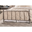 Hillsdale Metal Beds Twin Bed Set - Bed Frame Included