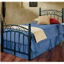 Hillsdale Metal Beds Twin Willow Bed - Item Number: 224BTWR