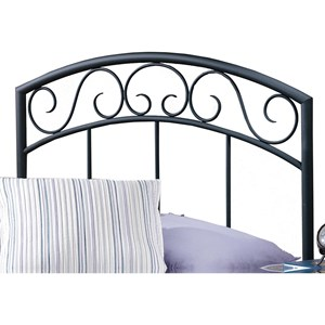 Morris Home Furnishings Metal Beds Full/Queen Wendell Headboard