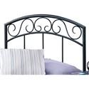 Hillsdale Metal Beds Full/Queen Wendell Headboard - Item Number: 298-49