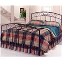 Hillsdale Metal Beds Queen Black Wendell Bed - Item Number: 298BQR