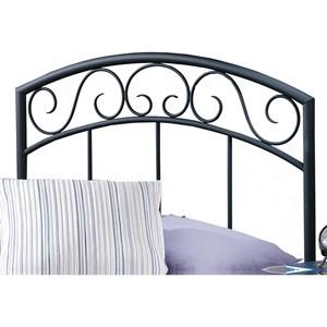 Morris Home Furnishings Metal Beds Twin Wendell Headboard