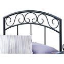 Hillsdale Metal Beds Twin Wendell Headboard - Item Number: 298HTWR