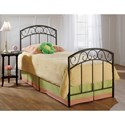 Hillsdale Metal Beds Twin Wendell Bed Set - Item Number: 299BTW