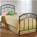 Hillsdale Metal Beds Queen Copper Pebble Wendell Bed - Item Number: 299BQR