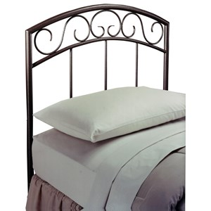 Morris Home Furnishings Metal Beds Twin Wendell Headboard