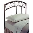 Hillsdale Metal Beds Twin Wendell Headboard - Item Number: 299HTWR