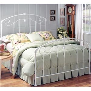 Morris Home Furnishings Metal Beds Queen Maddie Bed