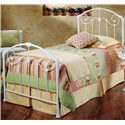 Hillsdale Metal Beds Mia Twin Bed - Item Number: 325BTWR