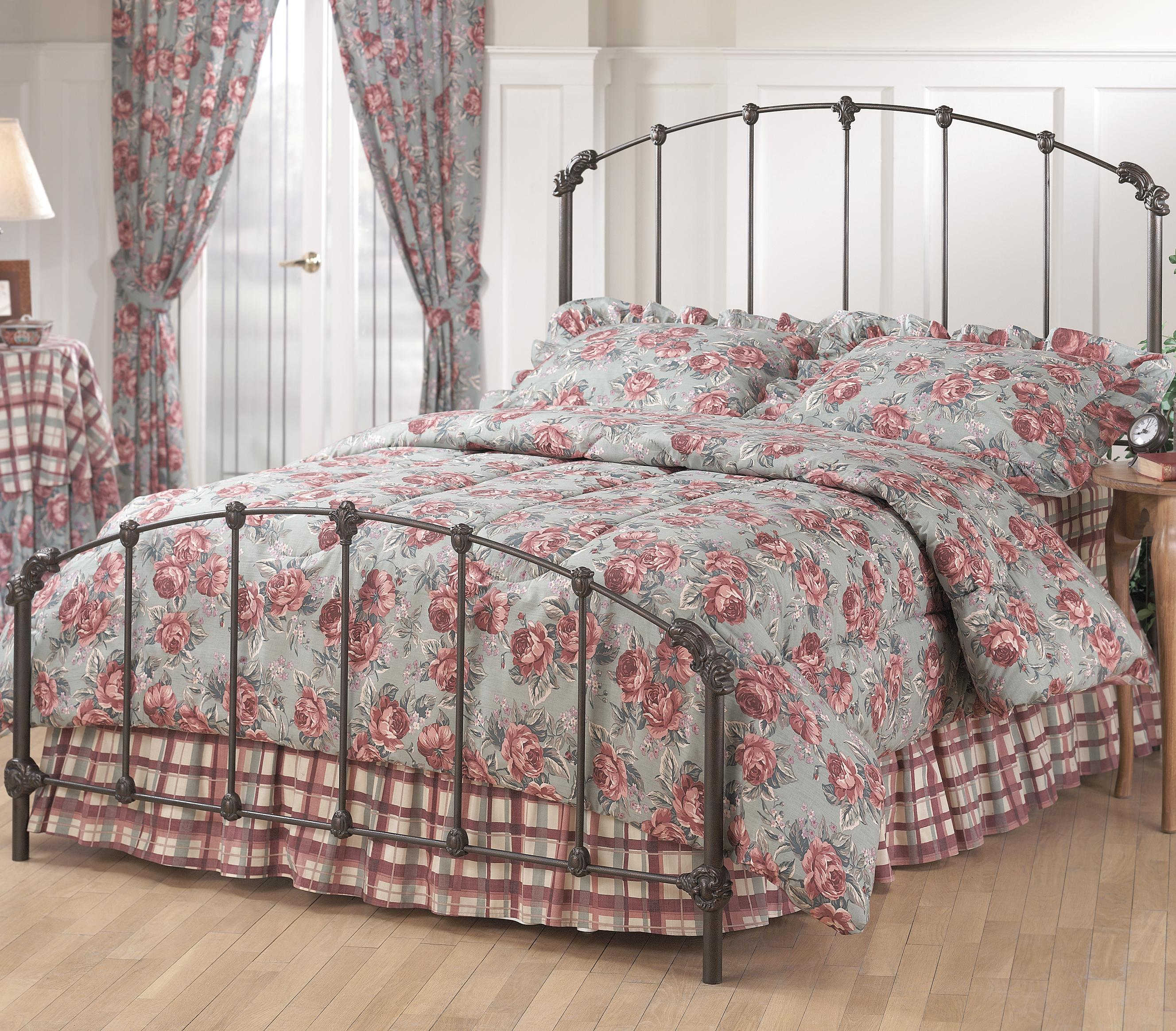 Hillsdale Metal Beds Full Bonita Bed - Item Number: 346BFR