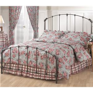 Morris Home Furnishings Metal Beds Queen Bonita Bed