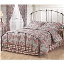 Morris Home Furnishings Metal Beds Queen Bonita Bed - Item Number: 346BQR