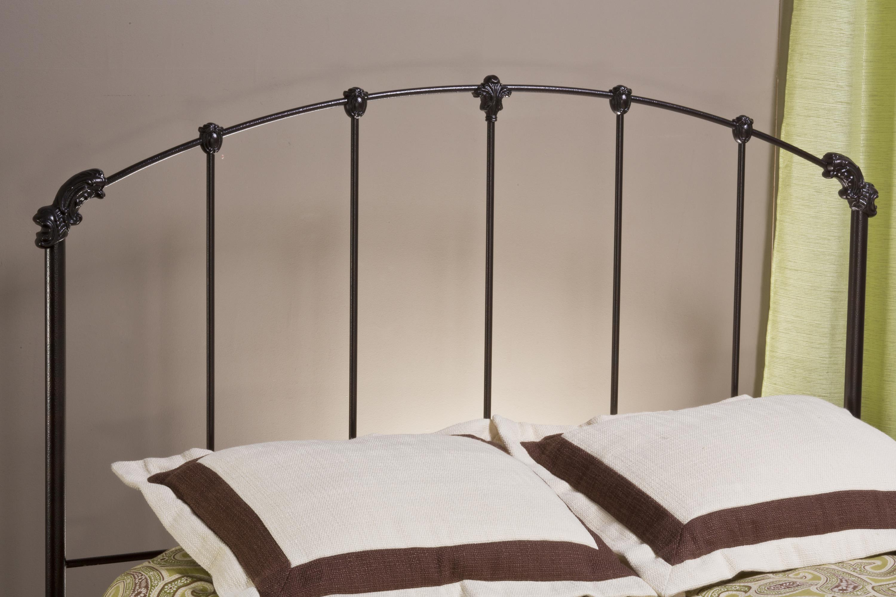 Hillsdale Metal Beds Bonita Full/Queen Headboard with Rails - Item Number: 346HFQR