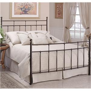 Morris Home Furnishings Metal Beds Queen Providence Bed