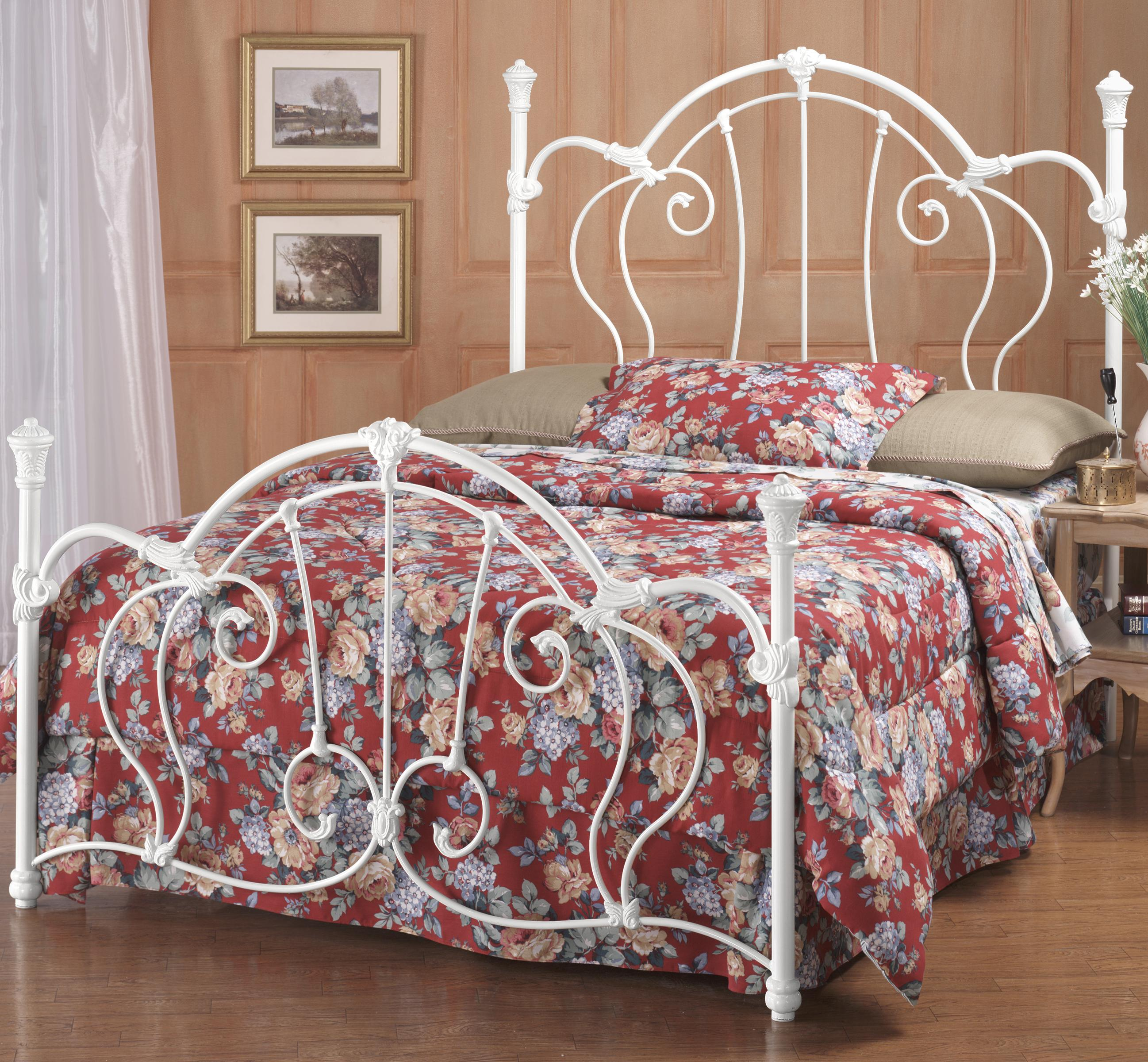 Hillsdale Metal Beds Full Cherie Bed - Item Number: 381BFR