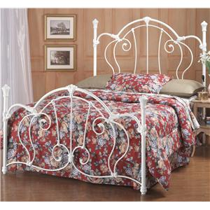 Morris Home Furnishings Metal Beds Queen Cherie Bed