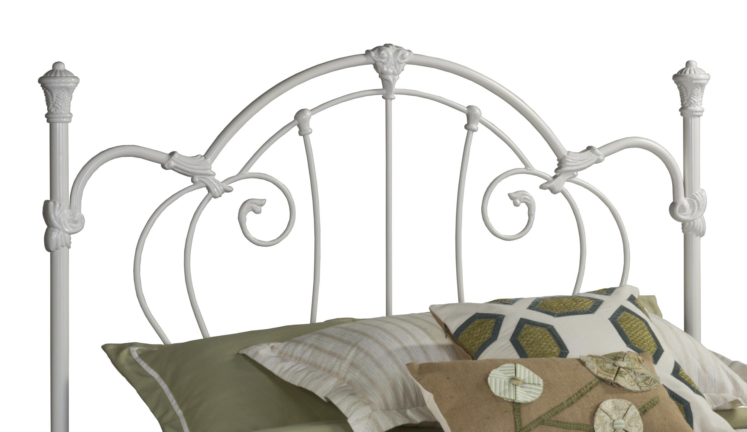 Hillsdale Metal Beds Headboard and Rails - Full/Queen - Item Number: 381HFQR