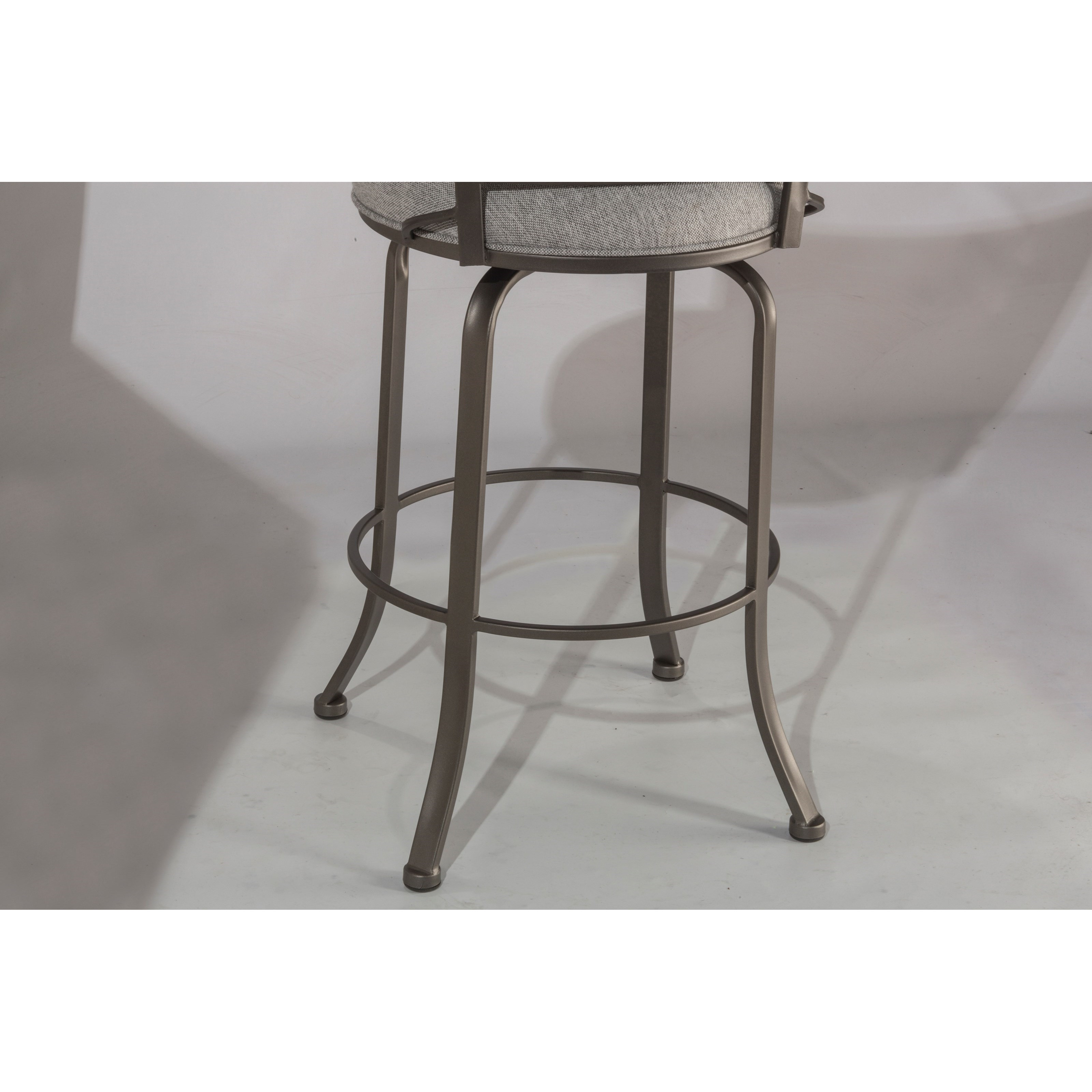 Belle Grove Transitional Counter Height Swivel Stool