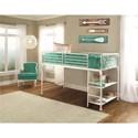 Hillsdale Brandi Metal Twin Junior Loft Bed