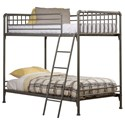 Hillsdale Brandi Twin/Twin Bunk Bed - Item Number: 2098BT