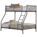 Hillsdale Brandi Twin/Full Bunk Bed - Item Number: 2098BTF