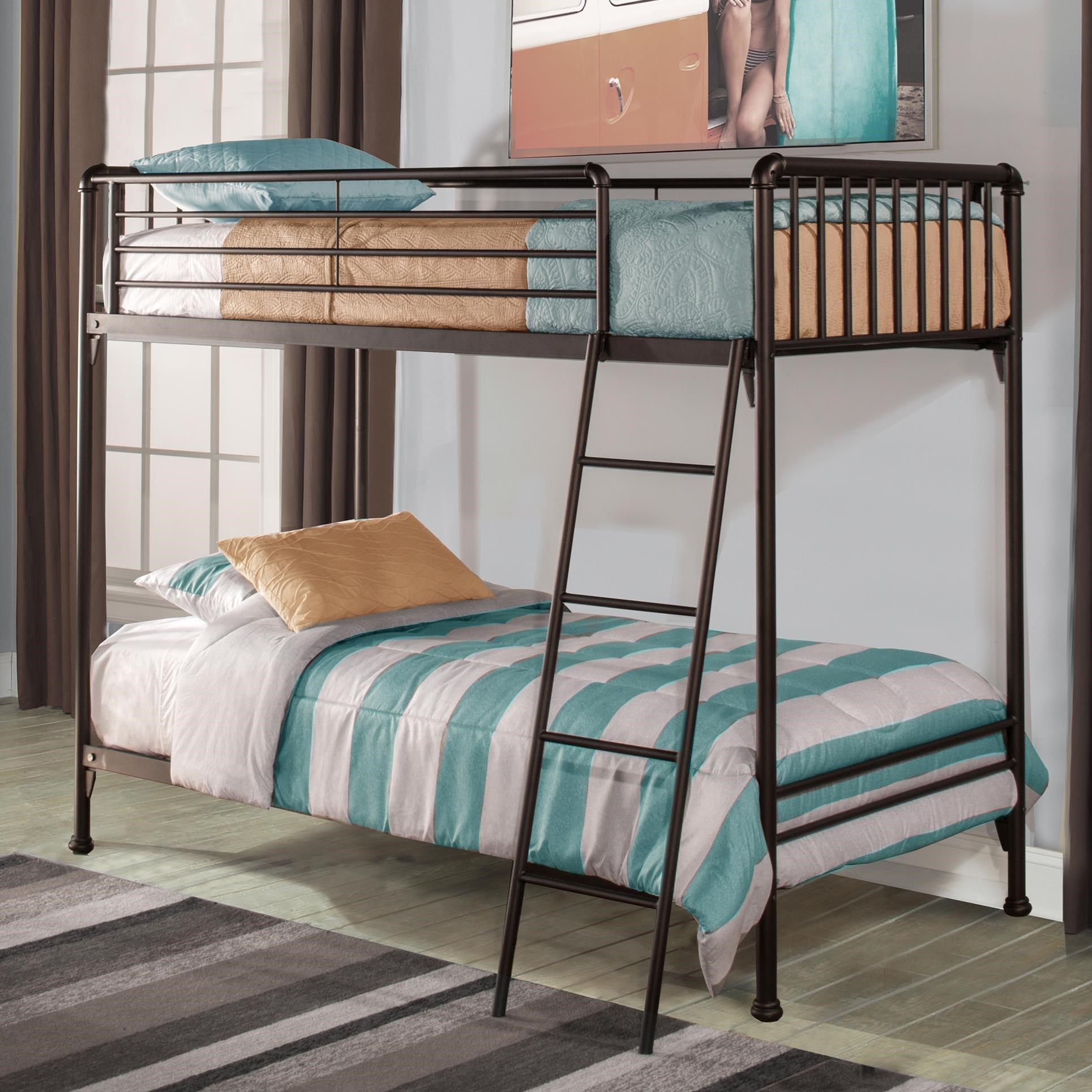 Hillsdale Brandi  Twin/Twin Bunk Bed - Item Number: 2099BT