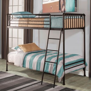 Hillsdale Brandi  Twin/Twin Bunk Bed
