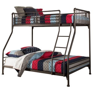Hillsdale Brandi  Twin/Full Bunk Bed