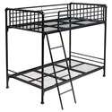 Hillsdale Brandi Twin/Twin Bunk Bed - Item Number: 2124BT