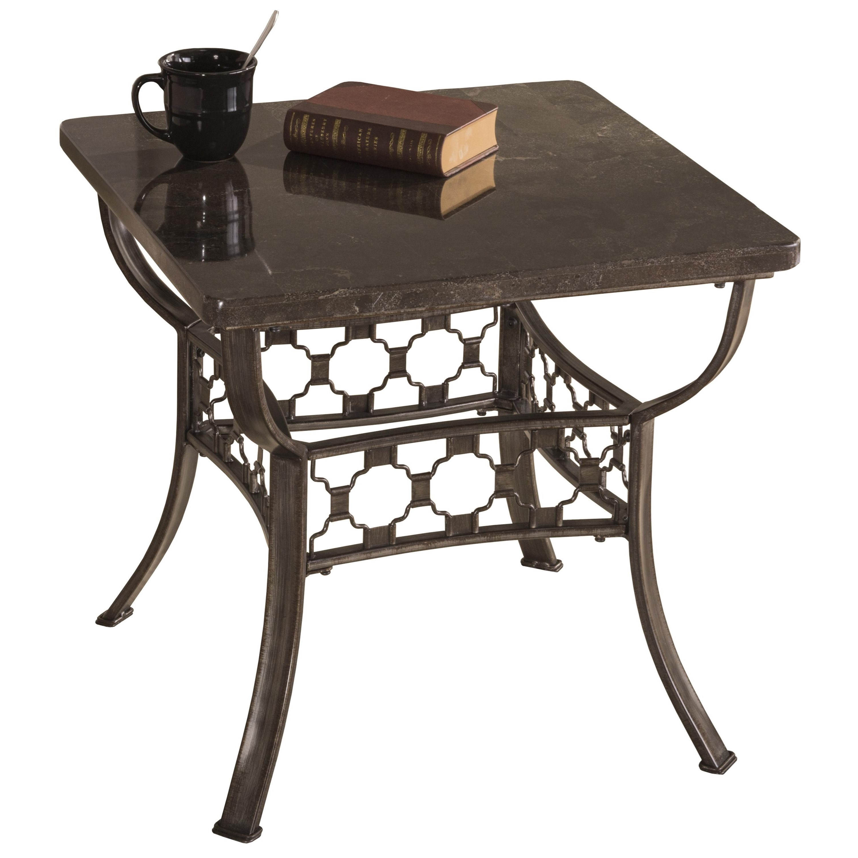 Hillsdale Brescello  Square End Table - Item Number: 5752ETR